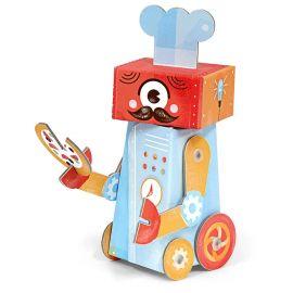 figurine 3D Fold my Robot 'Chef cuisinier'