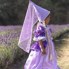 Chapeau de princesse avec tresse