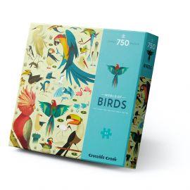 Puzzle - World of Birds - 750 pc