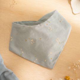 Bavoir bandana Lucky bib - Willow soft blue