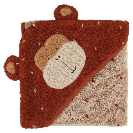 Cape de bain 75x75cm - Mr. Monkey