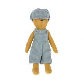 Salopette et bonnet pour Teddy Junior