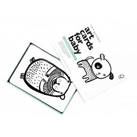 cartes imagier pour bébé Art Cards 'Pets'