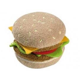 hamburger et frites Biofino