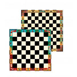 mallette de jeux d'échecs et de dames