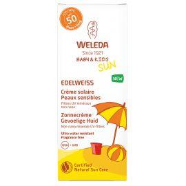 Edelweiss baby & kids - crème solaire SPF 50 - peaux sensibles - 50 ml