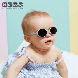 Lunettes de soleil bébé – Diabola - Gris clair